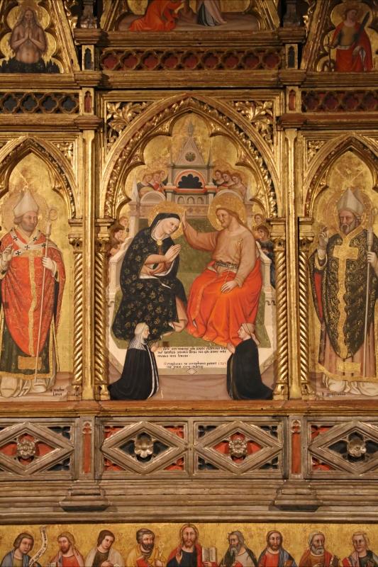 Serafino de' serafini, polittico dell'incoronazione della vergine e santi, 1385, 02 - Sailko - Modena (MO)