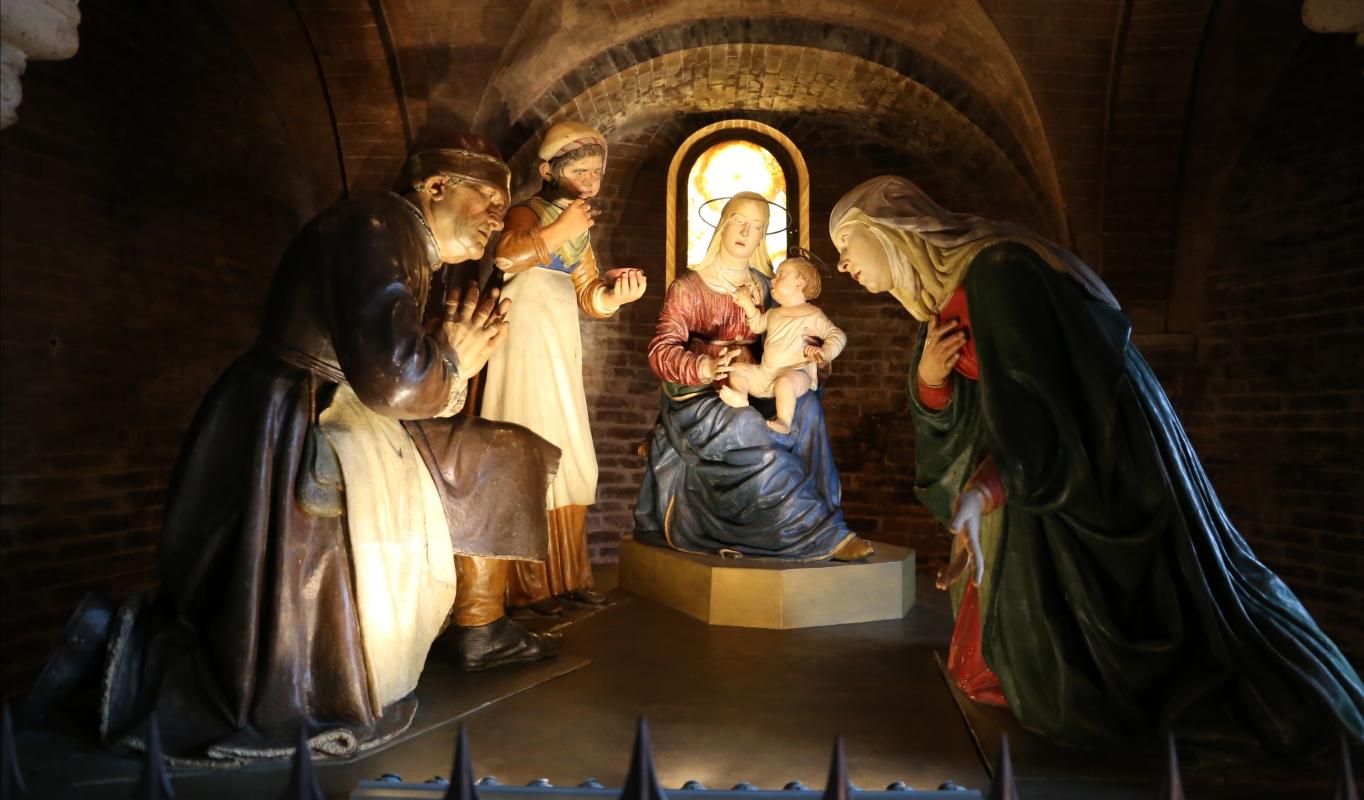 Guido mazzoni, madonna della pappa, 1480-85 ca. 01 - Sailko - Modena (MO)