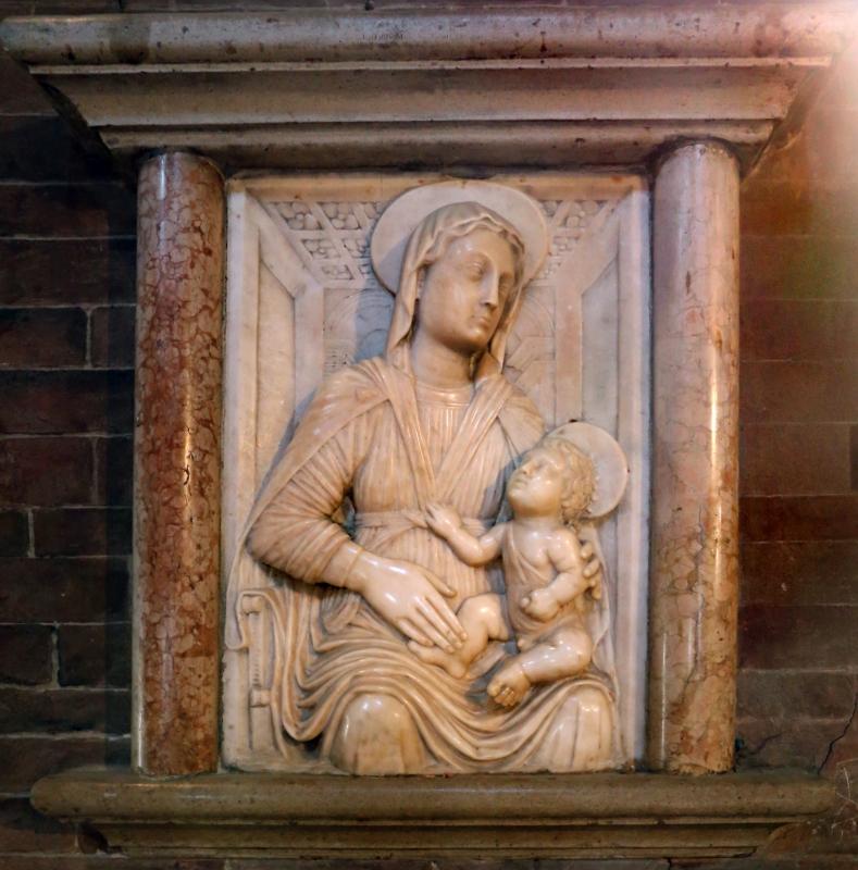 Scuola toscana, madonna col bambino, xv secolo - Sailko - Modena (MO)
