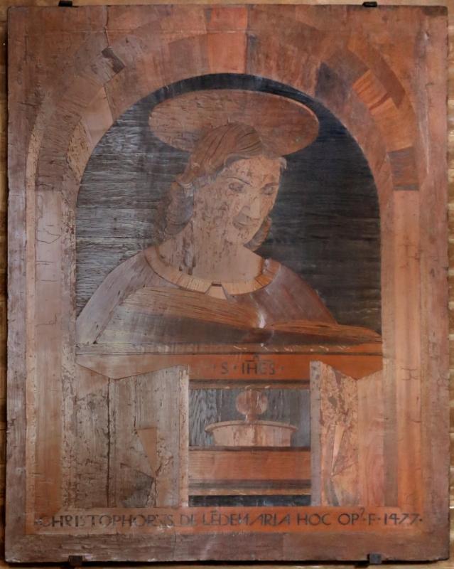 Cristoforo da lendinara, gli evangelisti, 1477, giovanni - Sailko - Modena (MO)