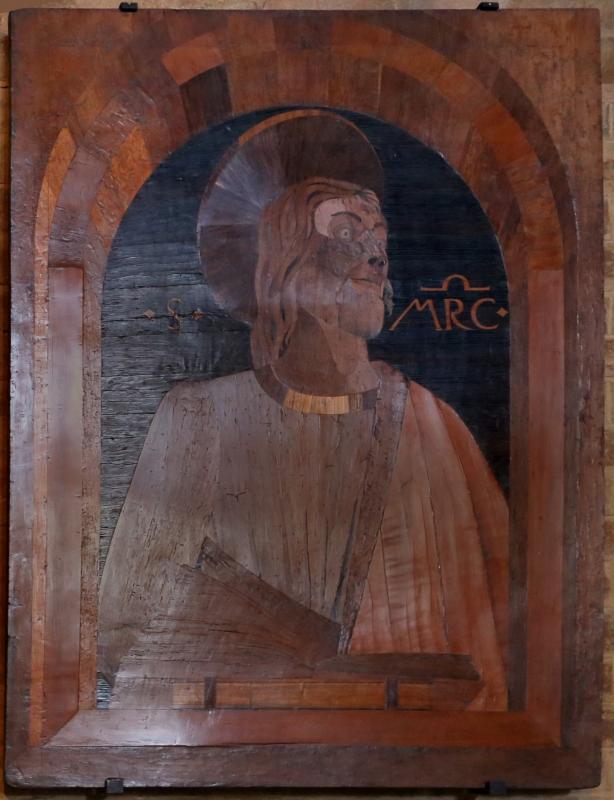 Cristoforo da lendinara, gli evangelisti, 1477, marco - Sailko - Modena (MO)