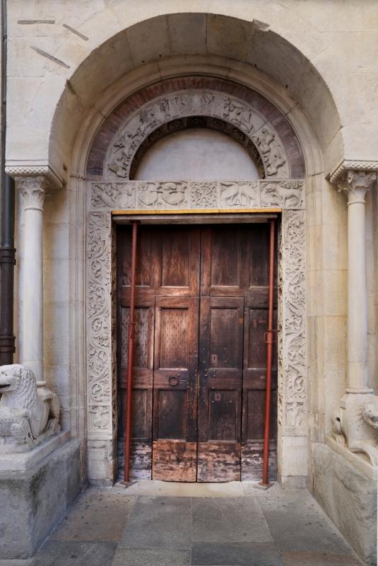Ambito di wiligelmo, porta della pescheria, 01 - Sailko - Modena (MO)