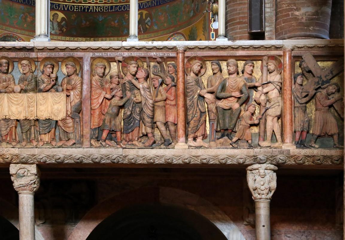 Anselmo da campione e aiuti, pontile del duomo di modena, 1160-80 ca. 05 - Sailko - Modena (MO)