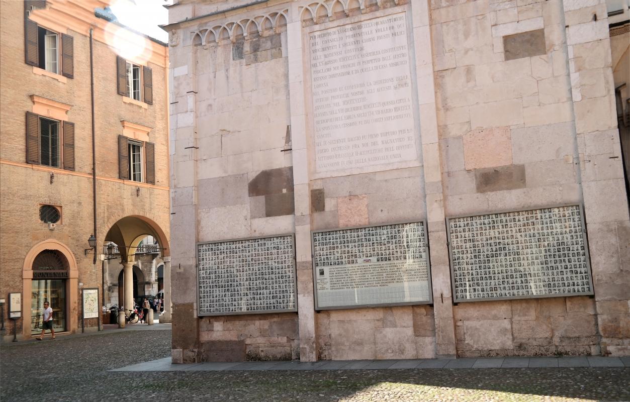 Sacrario della Ghirlandina ai Partigiani modenesi caduti - Beppeba - Modena (MO)