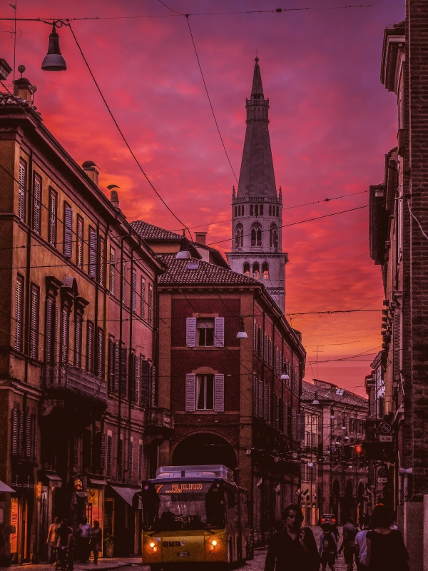 Un tramonto d'Estate - Luca Nacchio - Modena (MO)