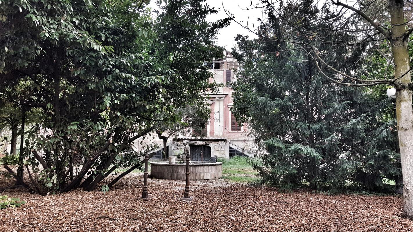 Casino del Duca ora Villa Ferri giardino interno - Giorgio Bocchi - San Felice sul Panaro (MO)