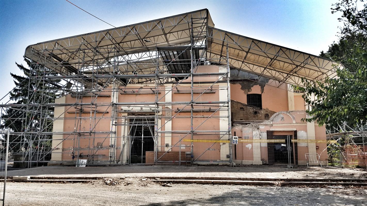 Chiesa di San Biagio Vescovo Martire situazione dal 20-29 05 2012 - Giorgio Bocchi - San Felice sul Panaro (MO)