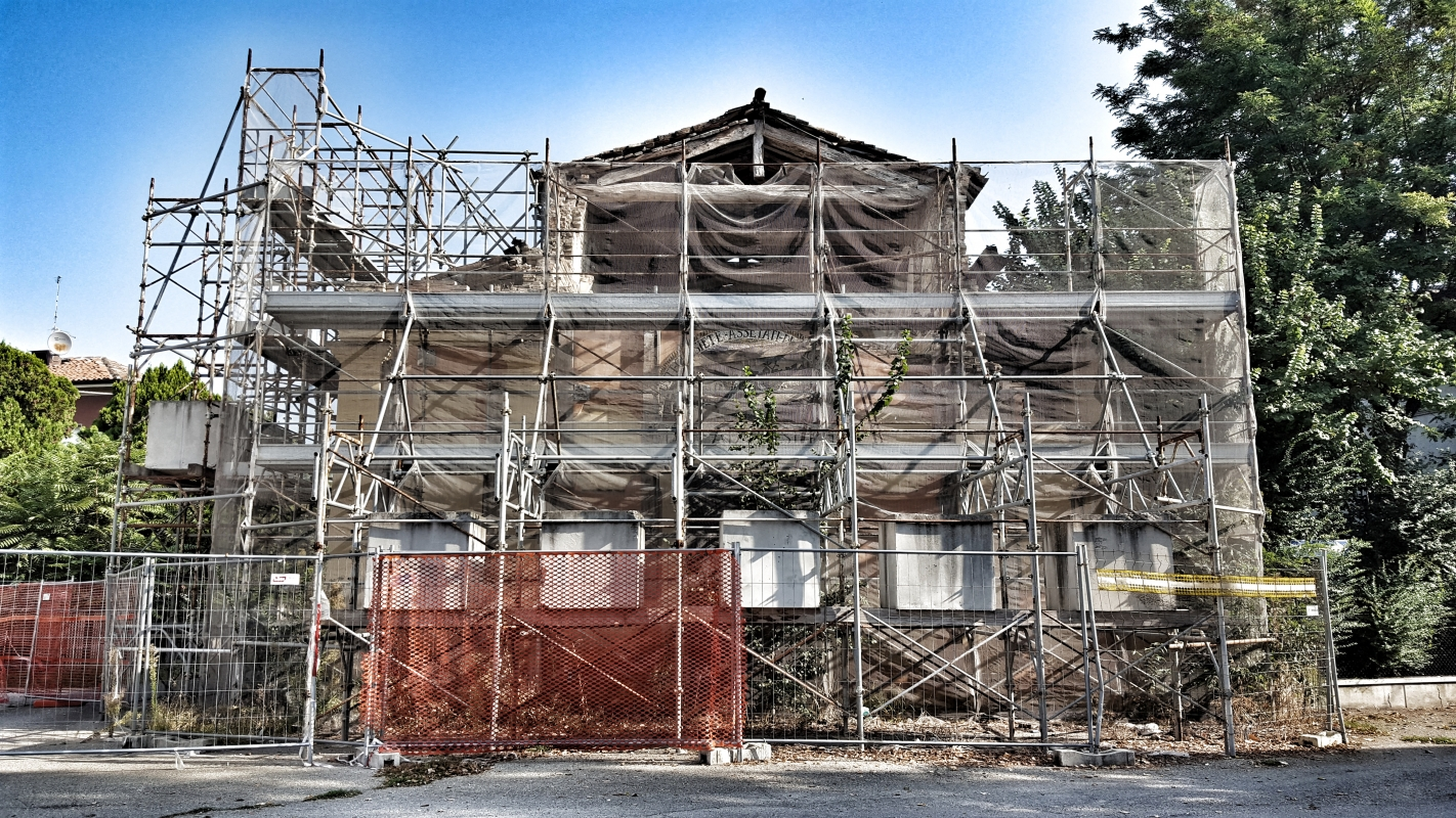 Chiesa di San Giuseppe o Madonna del Mulino situazione dal 20-29 05 2012 - Giorgio Bocchi - San Felice sul Panaro (MO)