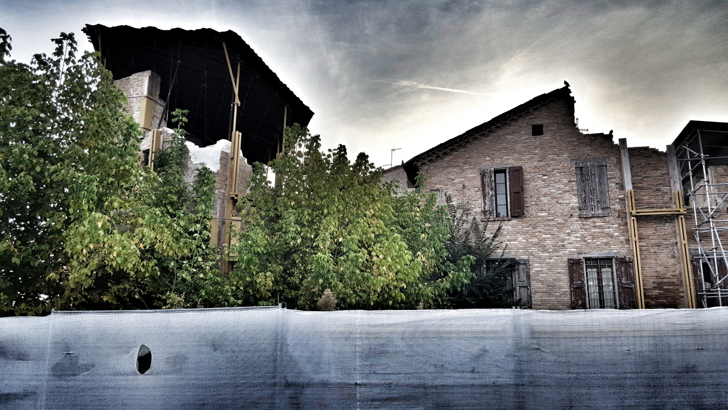 Torre Borgo lato Via Circondaria - Giorgio Bocchi - San Felice sul Panaro (MO)