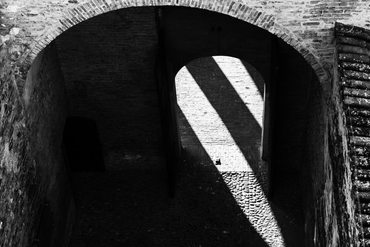 Entrata della Rocca - Quart1984 - Vignola (MO)
