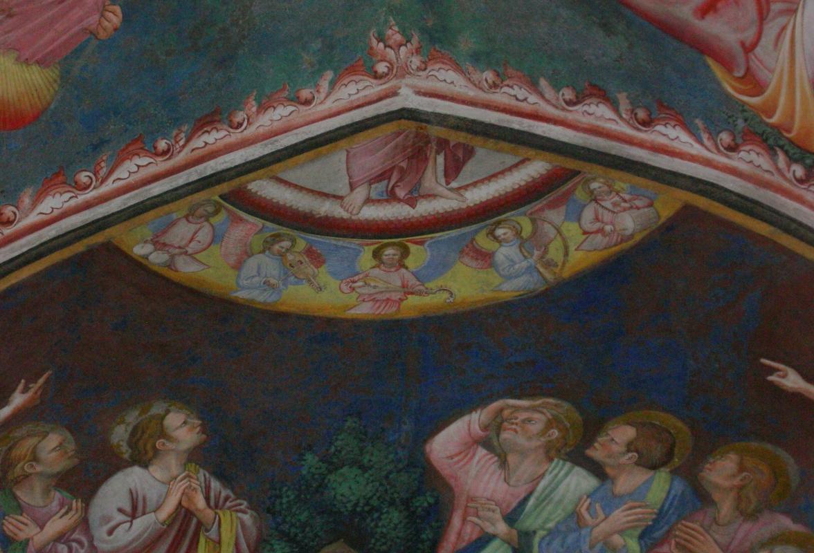 Maestro di Vignola - Ascensione - cappella Contrari Rocca di Vignola particolare 03 - Nicola Quirico - Vignola (MO)