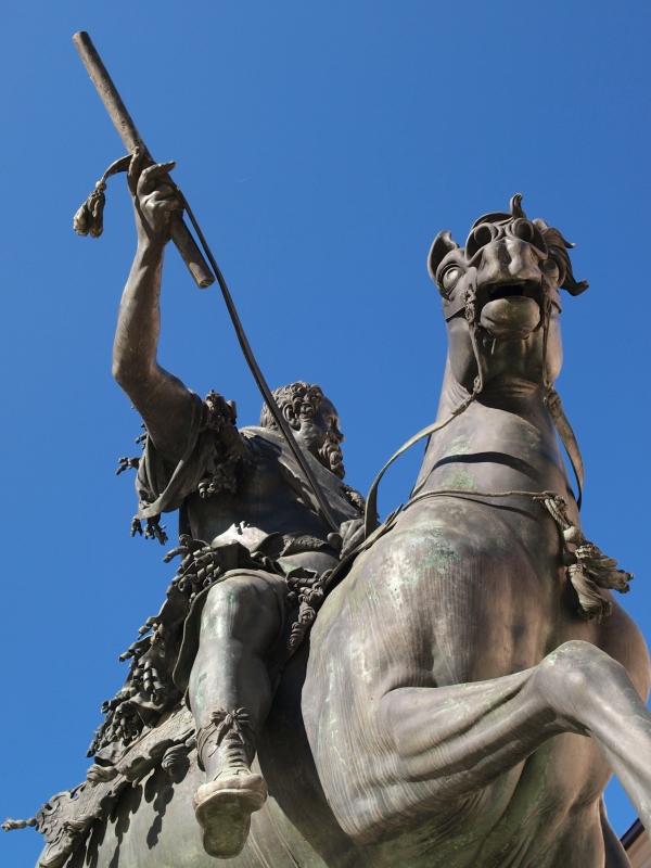 Piazza Cavalli, Monumento a Ranuccio I Farnese - Cinghiospol - Piacenza (PC)