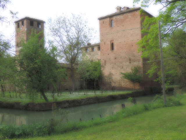Il parco del castello di Paderna - Paperkat - Pontenure (PC)