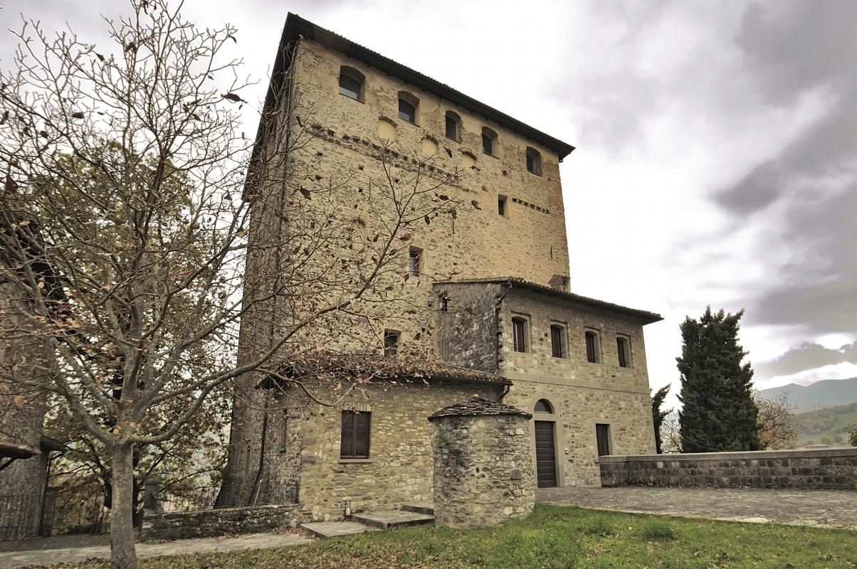 Castello Dal Verme - Carlo grifone - Bobbio (PC)