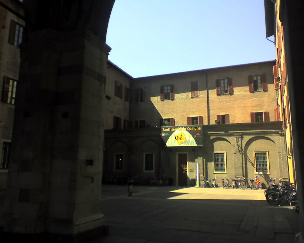 Cortile interno del palazzo dei mercanti - Manuel.frassinetti - Piacenza (PC)