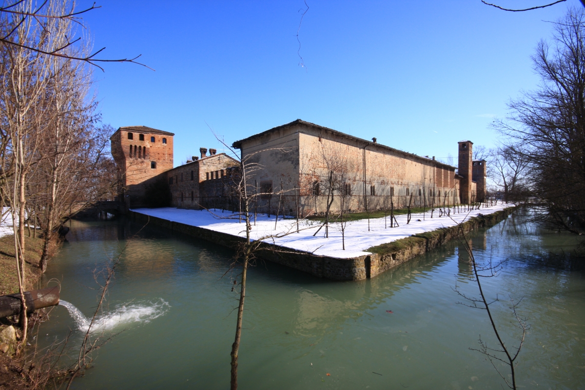 Il fossato del castello - Albertobru - Pontenure (PC)