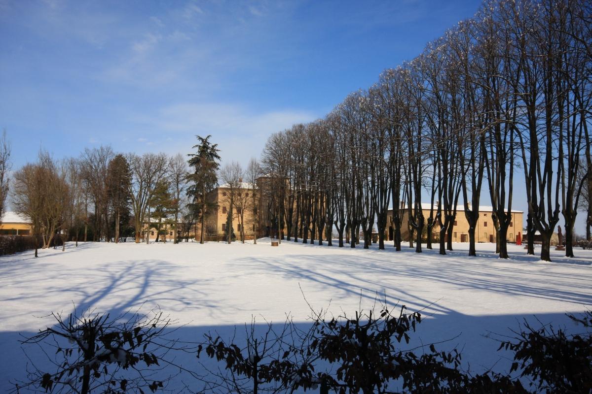 Parco del castello - Albertobru - San Pietro in Cerro (PC)