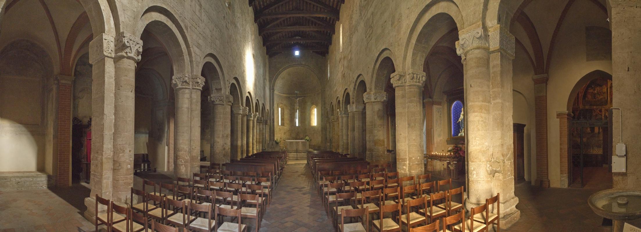 Collegiata Santa Maria, interno - Enrico Robetto - Castell'Arquato (PC)