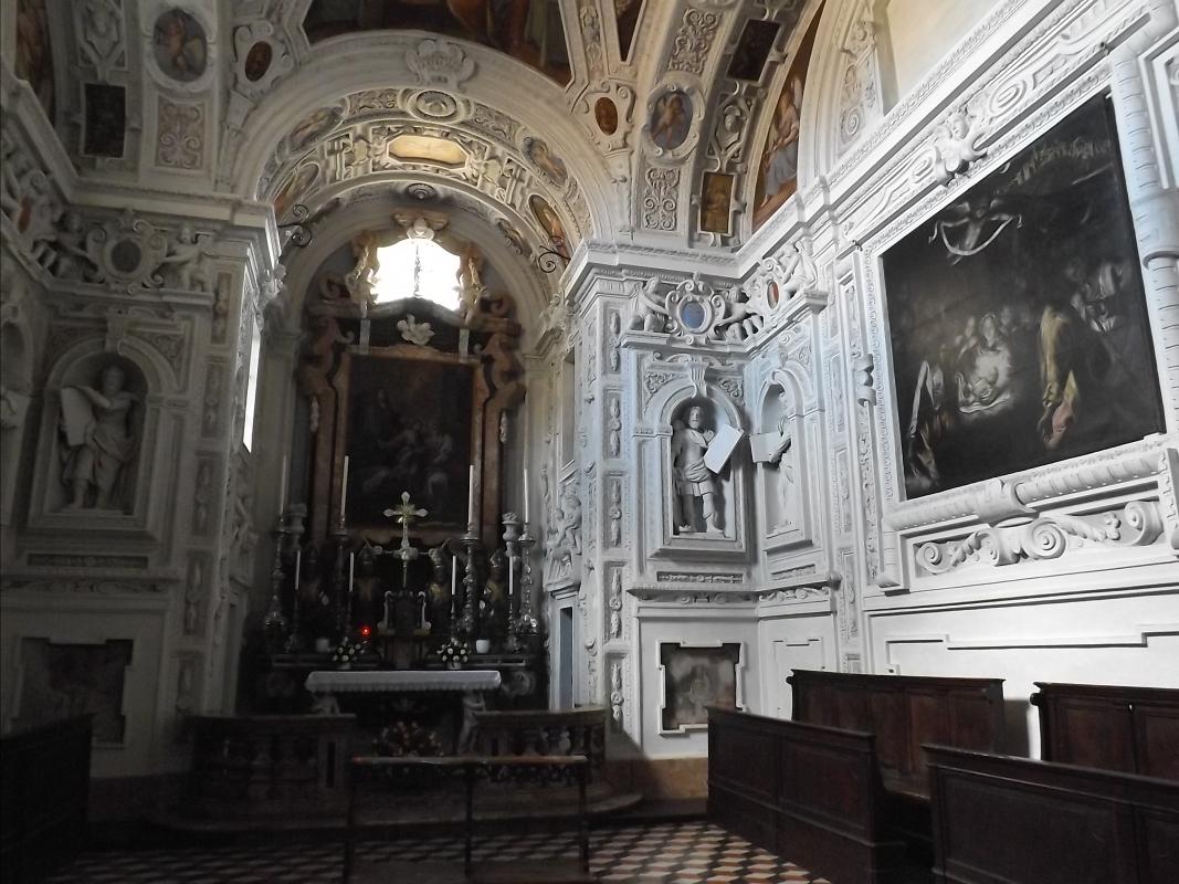 Interno della Collegiata di Santa Maria Assunta - LukeHunter - Castell'Arquato (PC)