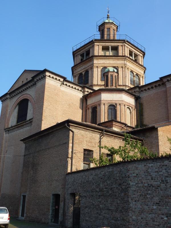 Santa Maria di Campagna, particolare dal retro - Michele aldi - Piacenza (PC)