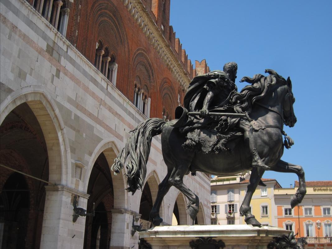 033032598 - Piacenza Statue Equestri Farnesiane - Mostacchi.angelo - Piacenza (PC)