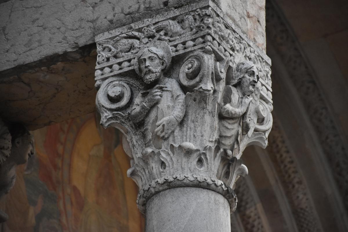 Duomo di Piacenza. Esterno. Particolare - Mantovani Raffaella - Piacenza (PC)