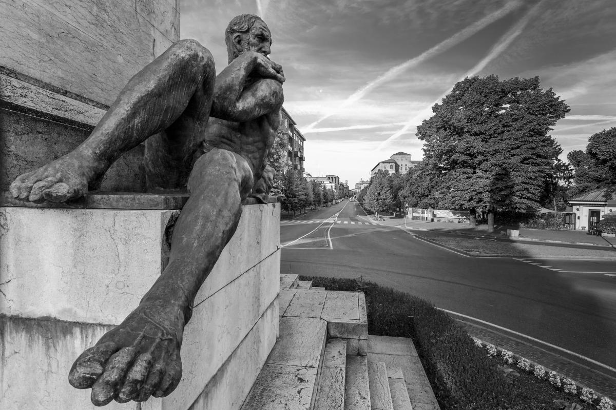 Monumento ai Pontieri 1 - Mario Carminati - Piacenza (PC)