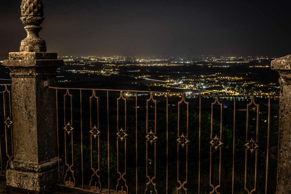 La pianura di notte - Losig - Travo (PC)