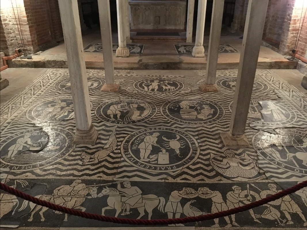 Mosaico pavimentale - Gingetta74 - Piacenza (PC)