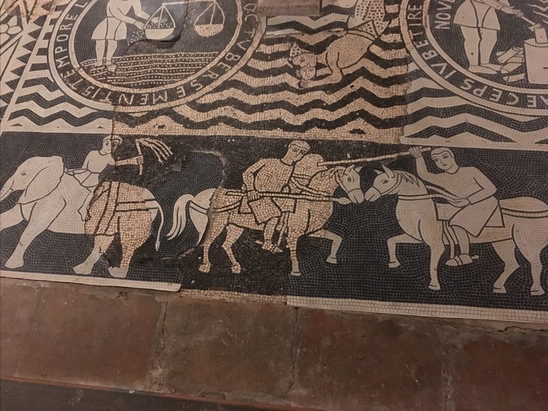 Mosaico pavimento - Gingetta74 - Piacenza (PC)