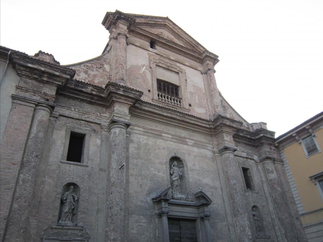 Ex chiesa del Carmine fronte - Seraphsephirot - Piacenza (PC)