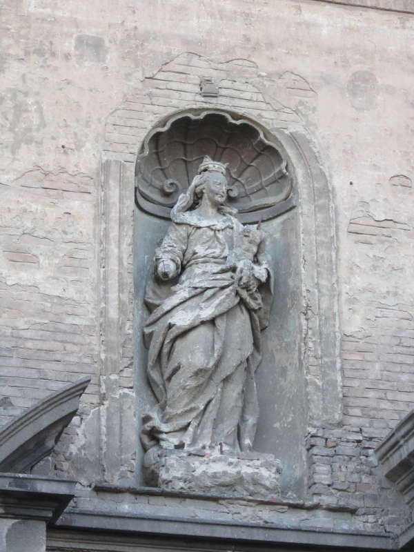 Ex chiesa del Carmine particolare sul frontale (2) - Seraphsephirot - Piacenza (PC)