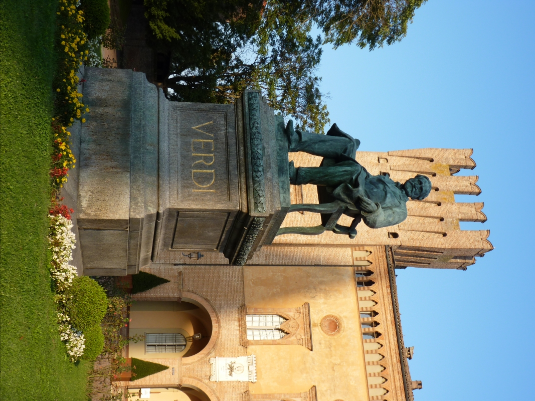 Monumento Giuseppe Verdi (con basamento) - Busseto - IL MORUZ - Busseto (PR)