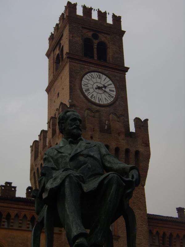 Busseto - Monumento a Verdi - Pivari - Busseto (PR)