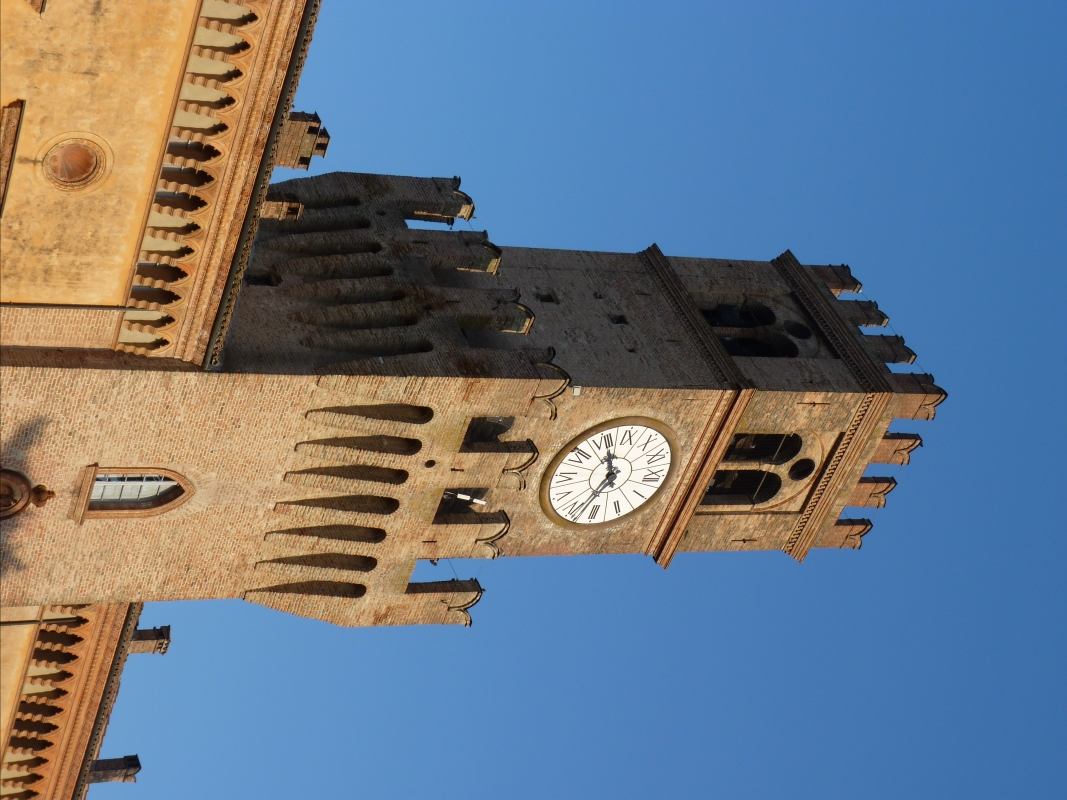 Dettaglio Orologio della Rocca Pallavicino - Busseto - IL MORUZ - Busseto (PR)