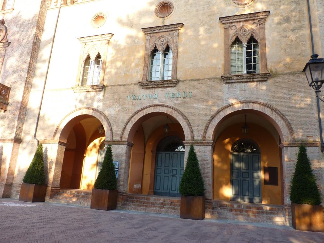 Ingresso Teatro Verdi - Bussetto - IL MORUZ - Busseto (PR)
