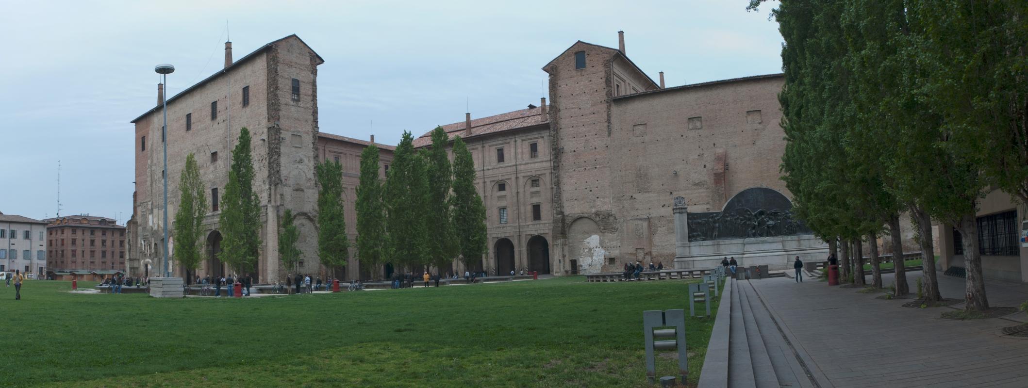 Vista delle mura della Cittadella - Fabio Duma - Parma (PR)