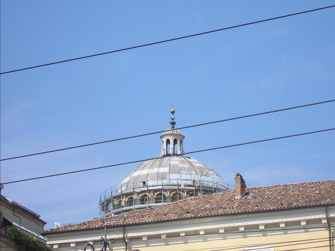Parma, Palazzo del Governatore (particolare cupola) - Palladino Neil - Parma (PR)