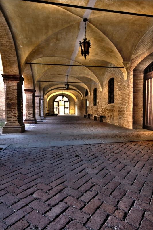 Arcata interna alla rocca di Fontanellato - Nicola Bisi - Fontanellato (PR)