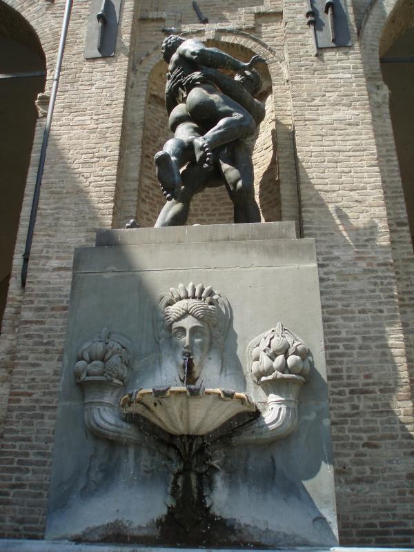 Statua Palazzo del Comune di Parma - Marcogiulio - Parma (PR)