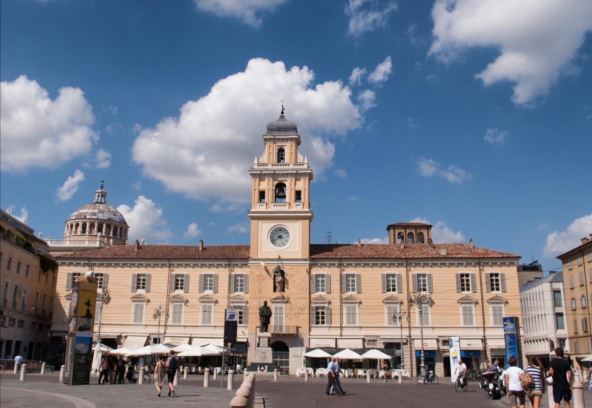 Palazzo del governatore, vista d'insieme - Diego Matarangolo - Parma (PR)
