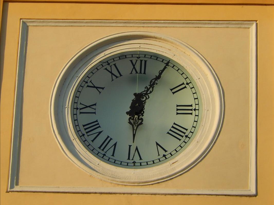 Orologio del Palazzo del Governatore di Parma - Luca Fornasari - Parma (PR)