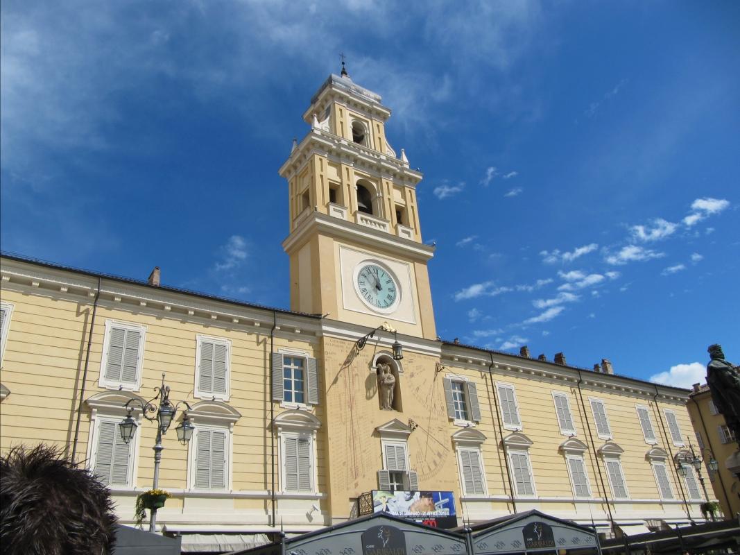 Facciata del palazzo Governatore - Anna pazzaglia - Parma (PR)