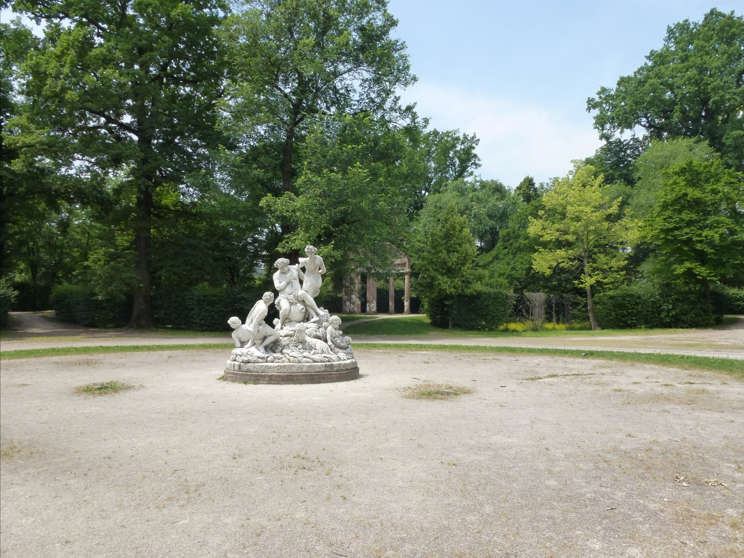 Parco Ducale - Il gruppo del Sileno - Eliocommons - Parma (PR)