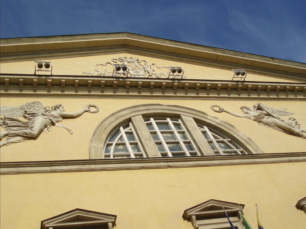 Teatro regio di Parma, particolare - Marcogiulio - Parma (PR)