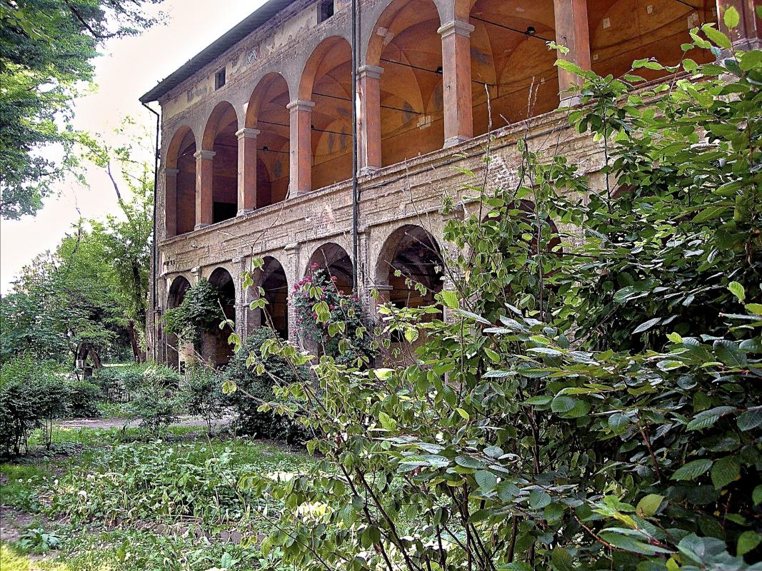 Rocca di San Secondo Parmense - Loggiato sul giardino interno - Caba2011 - San Secondo Parmense (PR)