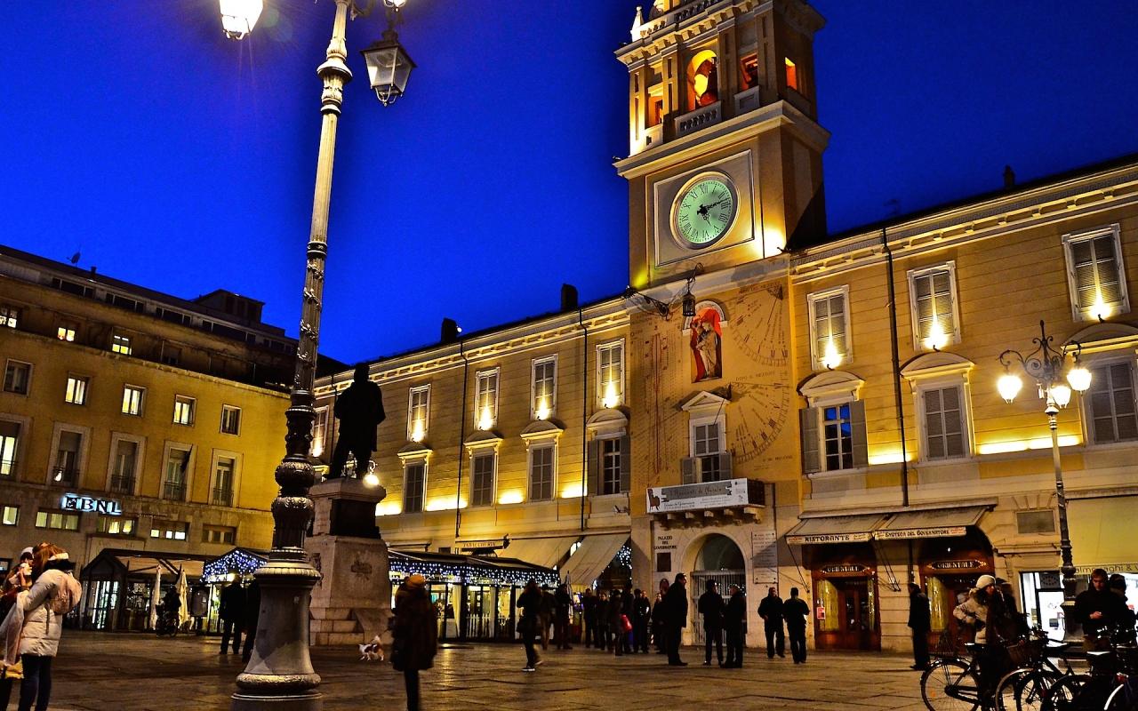 Palazzo del governatore in Piazza Garibaldi - Caba2011 - Parma (PR)