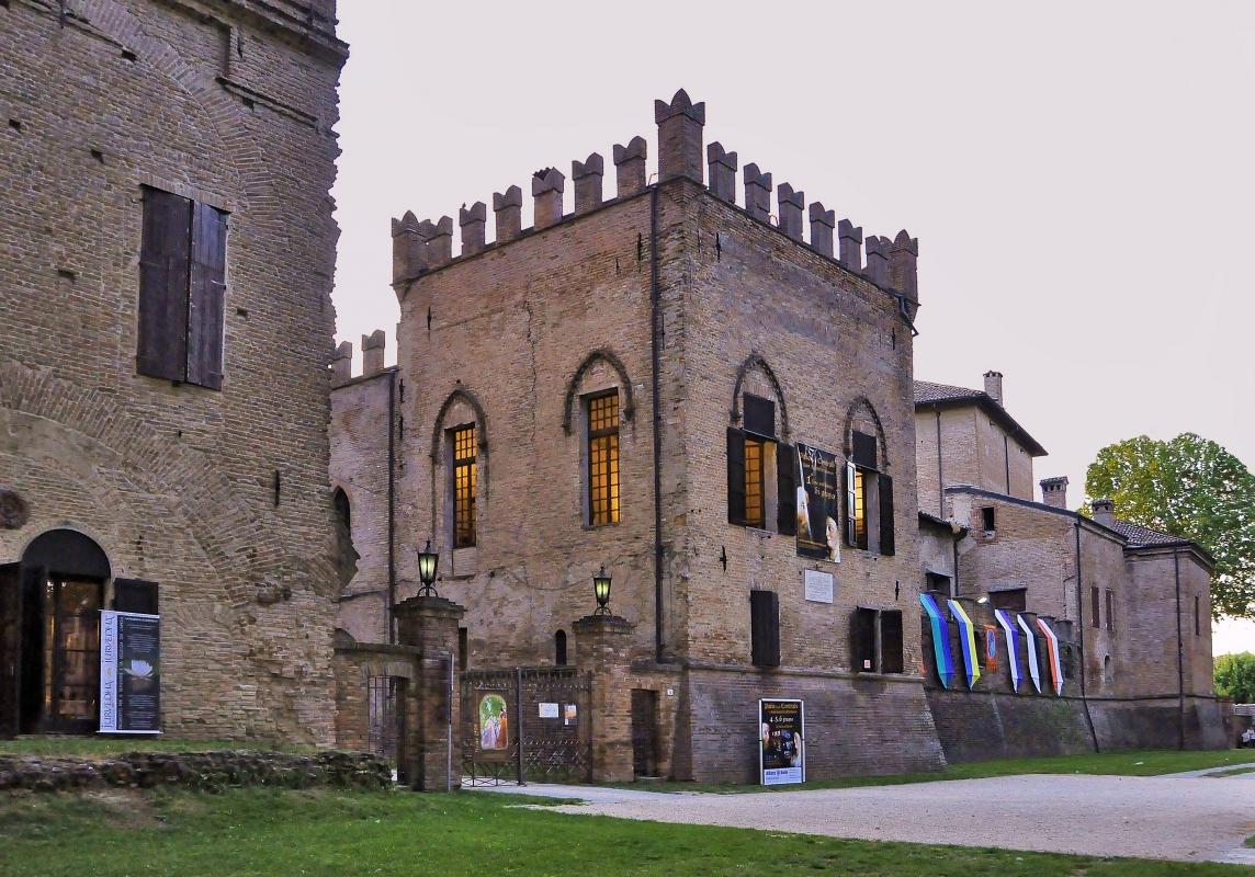 Rocca dei Rossi - Carlo grifone - San Secondo Parmense (PR)