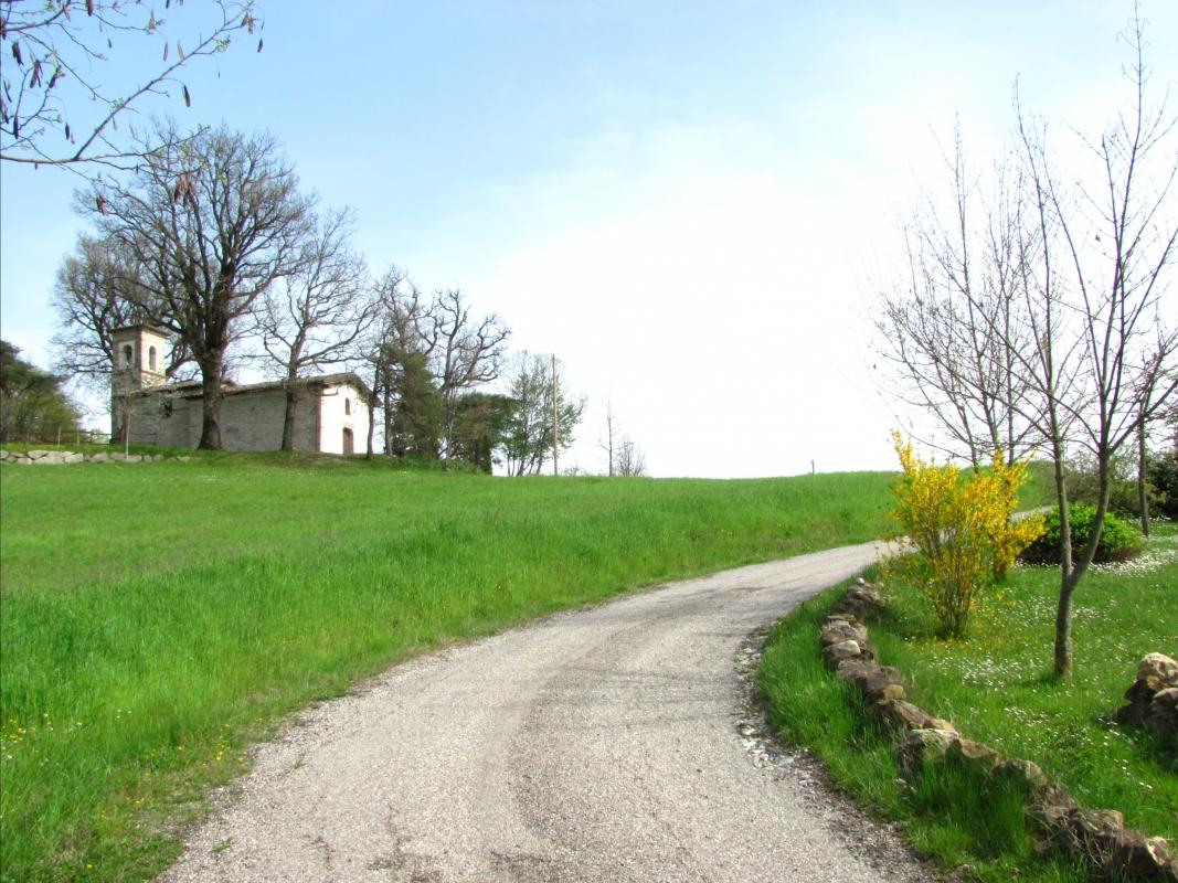 La chiesetta dalla strada - Massimo pr - Varano de' Melegari (PR)