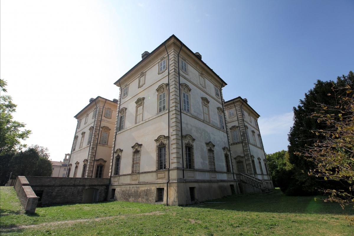 Villa Pallavicino vista dal parco - Gianluca catelli - Busseto (PR)